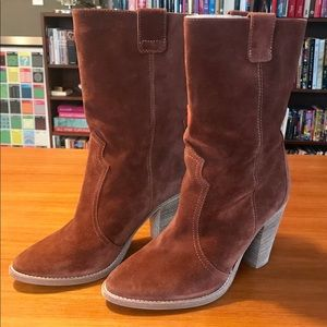 Aquatalia Florence Waterproof Suede Boot, 8.5